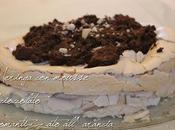 Meringa mousse cioccolato aromatizzato alla'arancia festeggiare compleanno