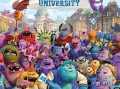 Tutti protagonisti Monsters University nuovo festoso poster
