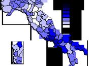 Distribuzione Voti Provincia: Popolo della Libertà