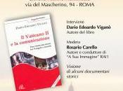 """Roma: presentazione libro Vaticano comunicazione. rinnovata storia Vangelo società"""", Dario Edoardo Viganò"""