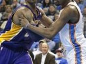Denver vince fuori, Oklahoma batte Lakers