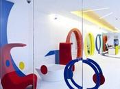 Google: l'interior design degli uffici Londra