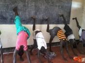 Sudan, yoga campo profughi