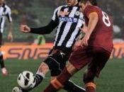 Udinese Roma vanno oltre l'1-1