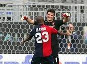 Cagliari Sampdoria 3-1, Ibarbo splendida tripletta