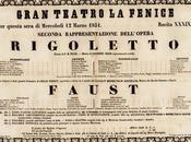 Rigoletto marzo 1851 Teatro Fenice Venezia