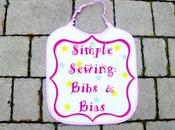Simple Sewing: Bibs Bias Cucito Facile: Bavaglini Sbieco