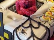 Spiderman cake Black