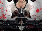 Jeremy Renner Gemma Arterton primo poster italiano Hansel Gretel: Cacciatori Streghe