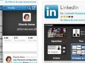 Rilasciate nuove versioni LinkedIn Twitter BlackBerry