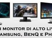 Nuovi monitor pollici Samsung, BenQ Philips presentati CeBit