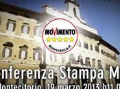 Beppe Grillo M5S, conferenza stampa Montecitorio