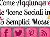 Come Aggiungere Icone Sociali Blog