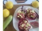 Tartare tonno zucchine olio tartufato CheffAlexandre)