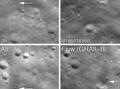 cattura crateri d'impatto creati dalle sonde GRAIL sulla Luna