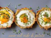 Uovo nido patate