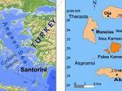 Santorini: eruzione vulcano, tsunami maremoto.