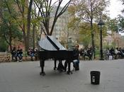 Artisti strada….Colin Huggins, pianista York Street artists.... Colin pianist