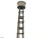 ultimi secondi della torre ex-Cip Fidenza: