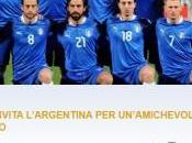 FIGC invita l'Argentina amichevole agosto