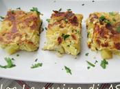 TORTINO PATATE CIPOLLE Ricette contorno /piatto unico