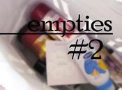[Empties Prodotti finiti Feb/March '13.