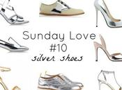 Sunday Love Silver Shoes