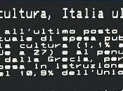 Spesa cultura, Italia ultima