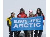 Spedizione Greenpeace Polo Nord chiedere Santuario globale l'Artico