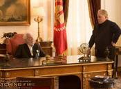 Philip Seymour Hoffman Donald Sutherland nella nuova immagine Hunger Games: Ragazza Fuoco