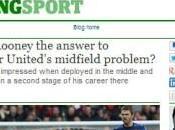 Rooney, nuova vita: futuro mediana?