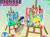 """Aprile 2013 """"Matisse quattro zampe"""" (Lupo Editore) Tiziana Cazzato Casarano (LE), Libreria Dante"""