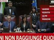 Quirinale: Franco Marini passa alla prima votazione
