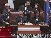 Giorgio Napolitano rieletto capo dello stato