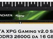 ADATA presenta memoria Gaming v2.0 Series DDR3 2600G