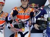 Primo successo Marquez, Rossi