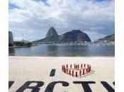 """""""Earth Day"""", striscione Arctic"""" Greenpeace"""