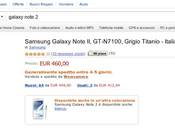 Samsung Galaxy Note euro Amazon Italia