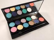 Sleek MakeUP: Aqua Collection iDivine Lagoon Recensione, Swatch