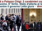 Governo Letta, battesimo sangue: sparatoria davanti Palazzo Chigi, feriti