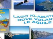 Lago klamath: dove volano aquile