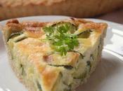 Torta brisée salata farina integrale zucchine