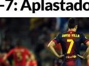 """stampa spagnola sola parola """"Umiliati"""""""