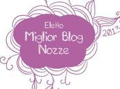 Eletto miglior blog nozze 2013. Grazie!