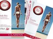 Puoi contare Clarins. {Free Clarins Body Box}