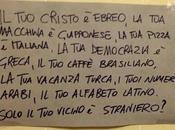 L'Italia agli italiani! altre stronzate simili...