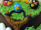 Come costruire torta tema Angry Birds.