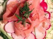 Insalata avocado salmone affumicato (Avocado smoked salmon salad)