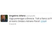 Alfano parteciperà alla manifestazione Brescia: vulnus istituzionale