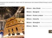 Offerta Etihad Airways: Voli destinazioni euro!